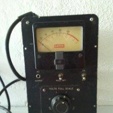 Rádios antigos: VOLTIMETRO MILITAR DE VALVULAS GATES. Lote 169302920