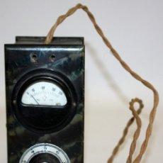 Radios antiguas: ANTIGUO ELEVADOR REDUCTOR DE VOLTAJE. MARCA SEVEIN. AÑOS 40. Lote 169663512