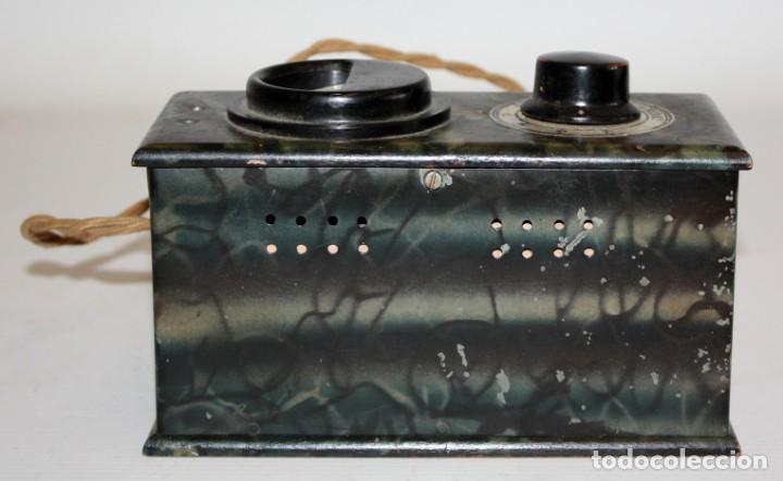 Radios antiguas: ANTIGUO ELEVADOR REDUCTOR DE VOLTAJE. MARCA SEVEIN. AÑOS 40 - Foto 3 - 169663512
