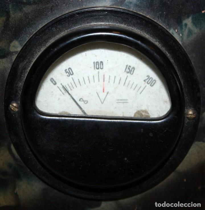 Radios antiguas: ANTIGUO ELEVADOR REDUCTOR DE VOLTAJE. MARCA SEVEIN. AÑOS 40 - Foto 4 - 169663512