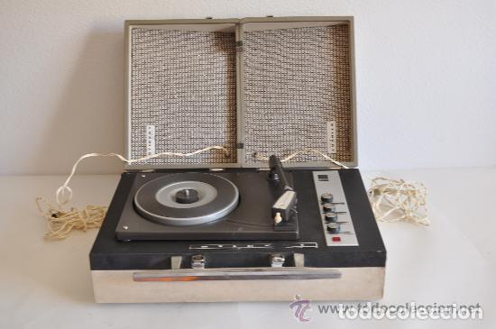 ESQUEMA DEL TOCADISCOS STIBERT 908 DIAMANTE DE LUXE (Radios - Aparatos de Reparación y Comprobación de Radios)