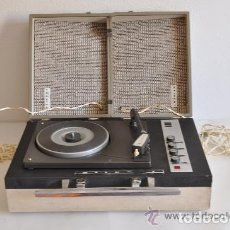 Radios antiguas: ESQUEMA DEL TOCADISCOS STIBERT 908 DIAMANTE DE LUXE. Lote 191191156