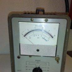 Radios antiguas: VOLTIMETRO DE VALVULAS HP 400D. Lote 172152829