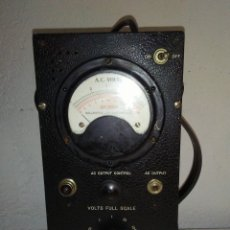Radios antiguas: VOLTÍMETRO MILITAR DE VÁLVULAS BALLANTINE MOD 643 VINTAGE. Lote 172938977