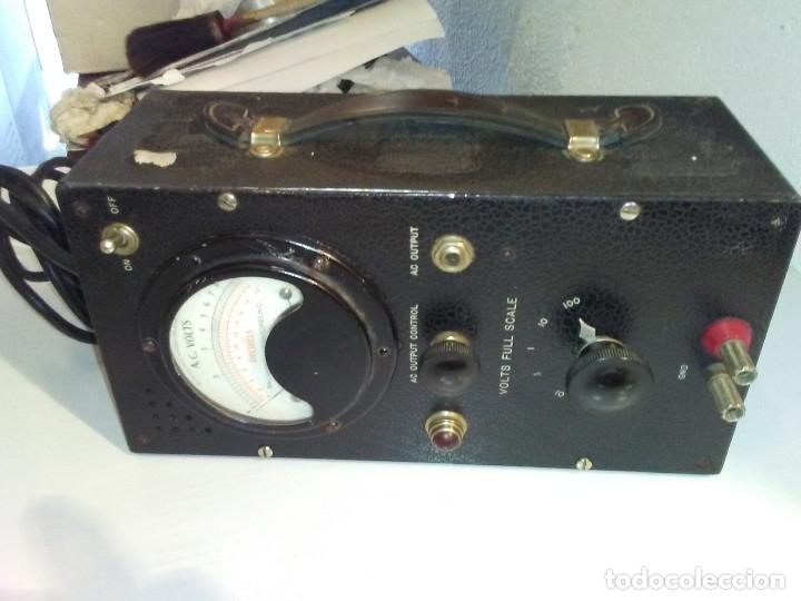 Radios antiguas: Voltímetro Militar de válvulas BALLANTINE MOD 643 Vintage - Foto 4 - 172938977
