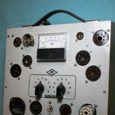 Radios antiguas: COMPROBADOR DE VALVULAS MAYMO. Lote 175146403