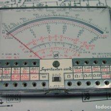 Radios antiguas: TESTER MULTIMETRO POLIMETRO ICE-680R....SANNA. Lote 175341355