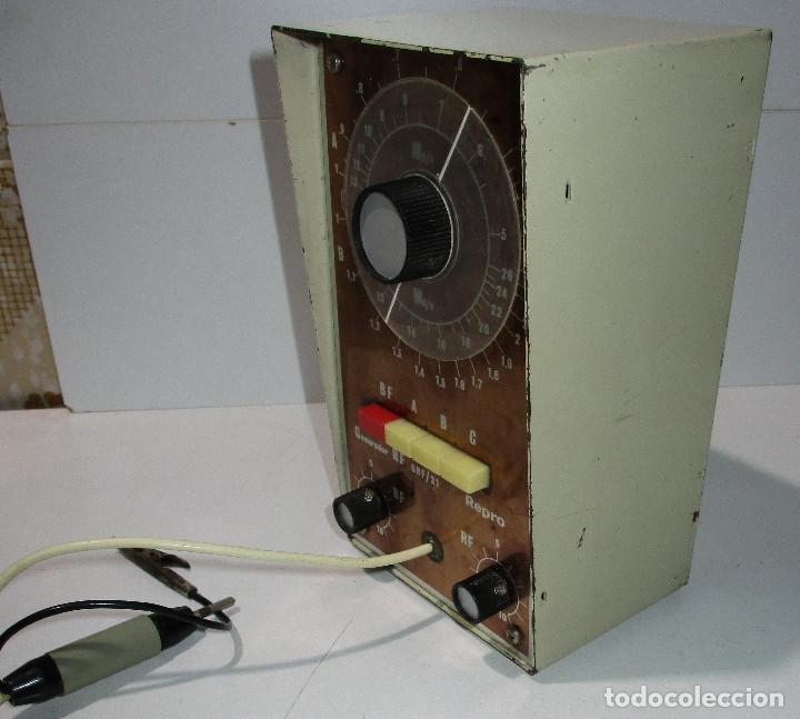Radios antiguas: Generador de señales de radio RF GRF/21 REPRO - Foto 2 - 176284625