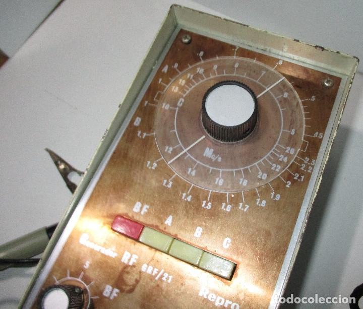 Radios antiguas: Generador de señales de radio RF GRF/21 REPRO - Foto 3 - 176284625
