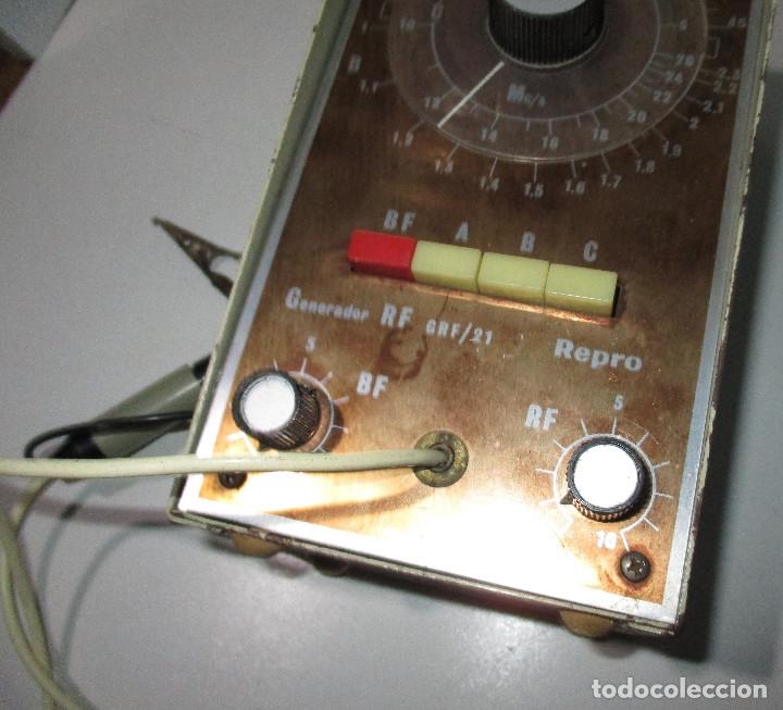Radios antiguas: Generador de señales de radio RF GRF/21 REPRO - Foto 4 - 176284625