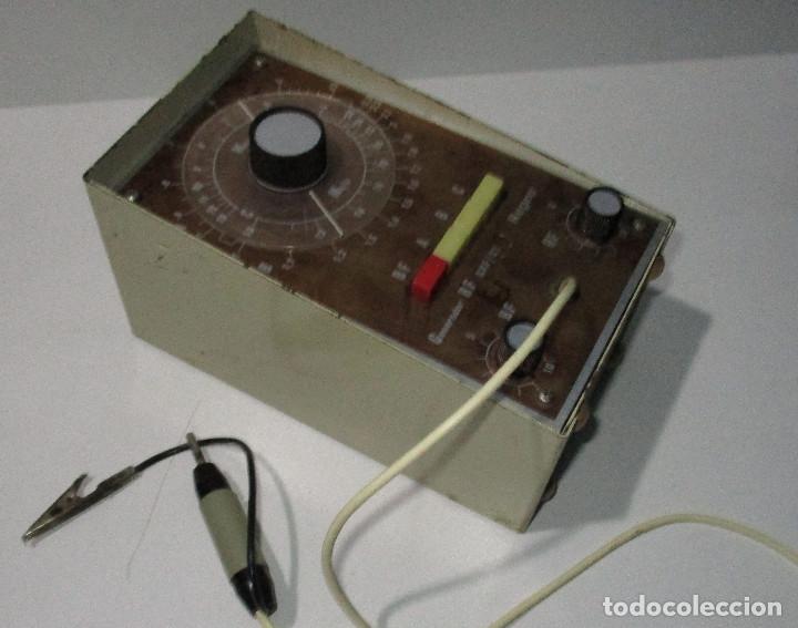Radios antiguas: Generador de señales de radio RF GRF/21 REPRO - Foto 5 - 176284625