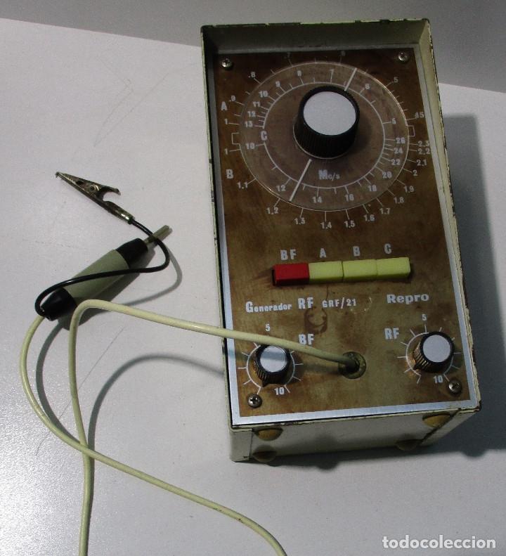 Radios antiguas: Generador de señales de radio RF GRF/21 REPRO - Foto 6 - 176284625