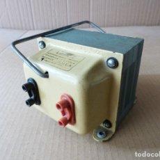 Radio antiche: TRANSFORMADOR LOYJE RECTIFICADOR DE CORRIENTE DE 125 V A 220 V O VICEVERSA 220V A 125V - 750 W. Lote 177089193