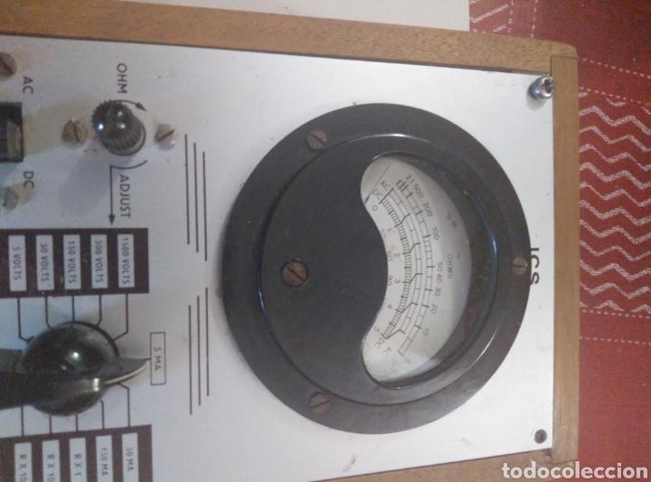 Radios antiguas: Multímetro antiguo de SCI - Foto 4 - 177259618