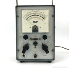 Radios antiguas: VOLTIMETRO ELECTRONICO VT-5 LME AMPERIMETRO A VALVULAS 125V LABORATORIOS DE METROLOGIA ELECTRONICA. Lote 177313272