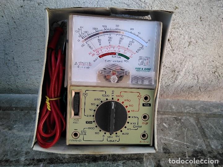 COMPROBADOR TELSTER FUNCIONANDO (Radios - Aparatos de Reparación y Comprobación de Radios)