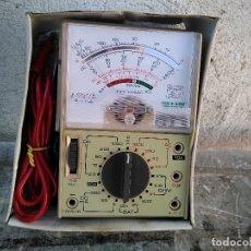 Radios antiguas: COMPROBADOR TELSTER FUNCIONANDO. Lote 177834325