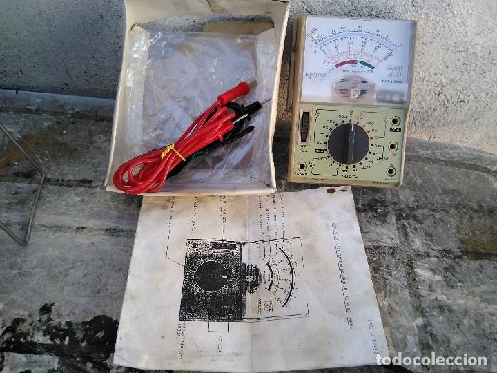 Radios antiguas: comprobador telster funcionando - Foto 2 - 177834325