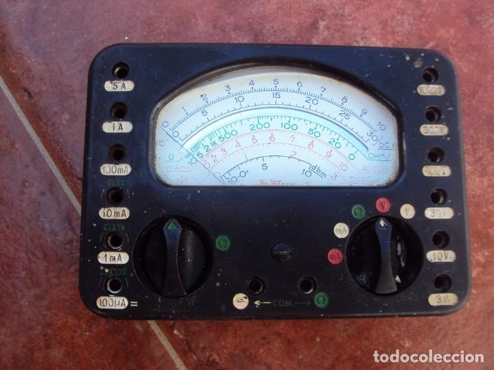TESTER FRANCES PRECIOSO (Radios - Aparatos de Reparación y Comprobación de Radios)