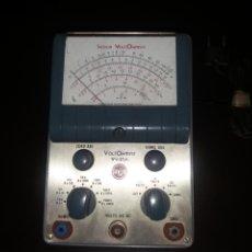 Radios antiguas: VOLTIMETRO RCA.. Lote 181499496