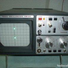 Radios antiguas: OSCILOSCOPIO HAMEG HM-203 . Lote 183620811