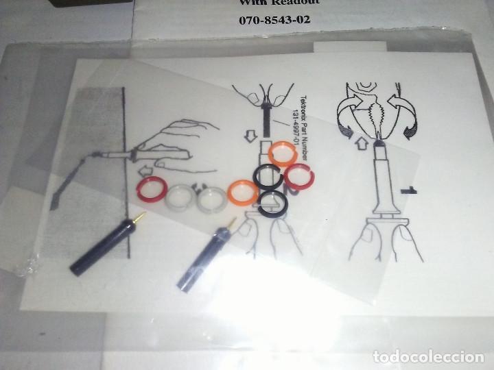 Radios antiguas: Punta de prueba Osciloscopio TEKTRONIX P6111B 200MHZ 10X - Foto 4 - 184208890