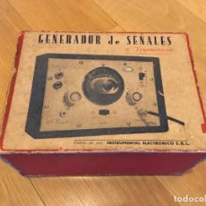 Radios antiguas: GENERADOR DE SEÑALES A TRANSISTORES.NELSE.. Lote 184744627