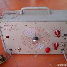 Radios antiguas: GENERADOR RF RADIO FRECUENCIA Y BF EURATELE KOLN ERATELE...SANNA. Lote 185991076