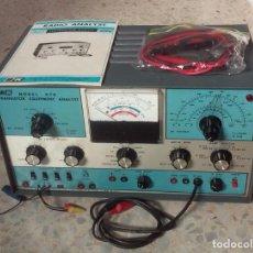 Radios antiguas: GENERADOR Y MULTI COMPROBADOR DE RADIOS Y APARATOS DE TRANSISTORES B&K970....SANNA. Lote 186131297