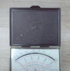 Radios Anciennes: ELECTRONICA, POLIMETRO, TESTER ICE CON MANUAL, NO PUEDO ASEGURAR QUE FUNCIONE PERFECTAMENTE. Lote 187594246