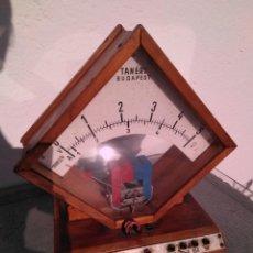 Radio antiche: MEDIDOR V/A DE SOBREMESA TANÉRT BUDAPEST. AÑO 1968-1972. Lote 189431897
