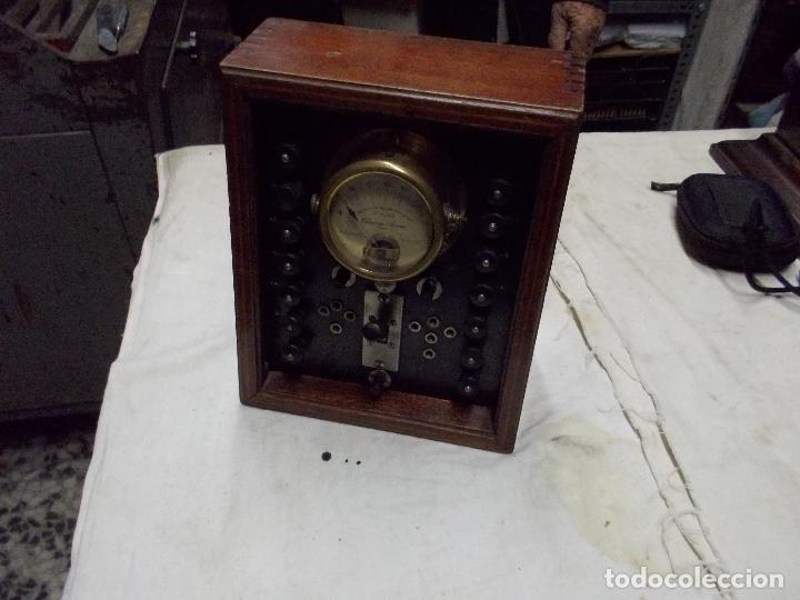 Radios antiguas: aparato de medida - Foto 4 - 190467395