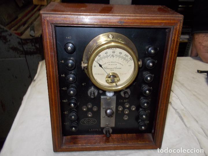 Radios antiguas: aparato de medida - Foto 5 - 190467395