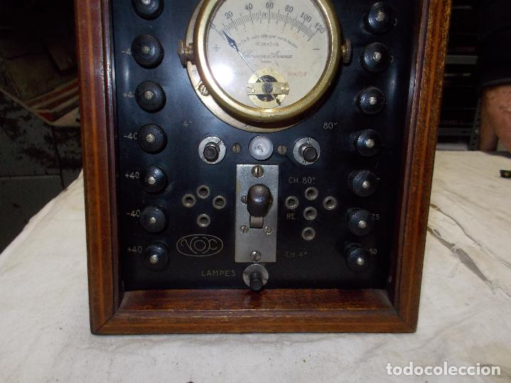 Radios antiguas: aparato de medida - Foto 6 - 190467395
