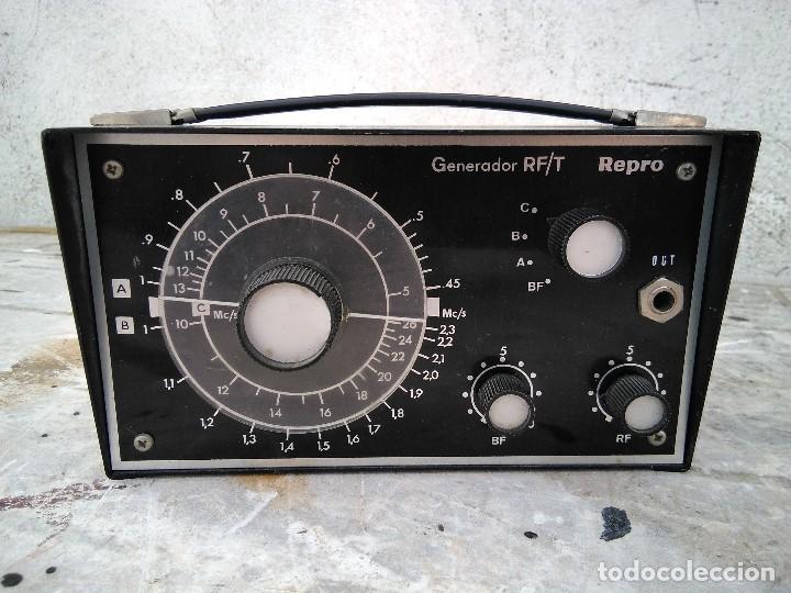 APARATO GENERADOR RF. (Radios - Aparatos de Reparación y Comprobación de Radios)