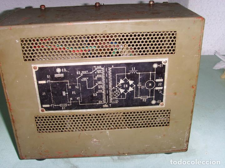 Radios antiguas: ADACTADOR DE CORRIENTE BA-326-A - Foto 7 - 192092051