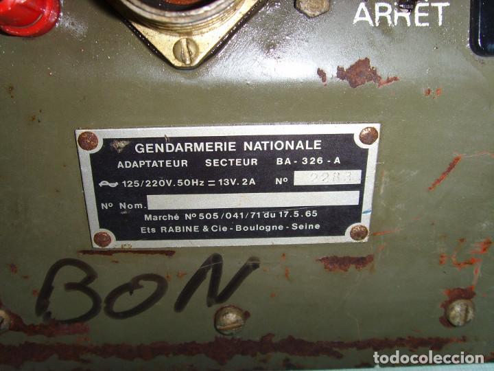 Radios antiguas: ADACTADOR DE CORRIENTE BA-326-A - Foto 12 - 192092051