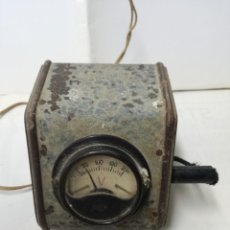 Radios antiguas: ANTIGUO VOLTIMETRO BALAY. Lote 192737526