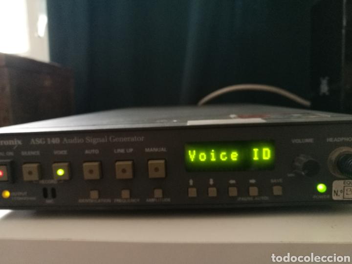 Radios antiguas: Sony Tektronix ASG 140 Generador de señales de audio 20 kHz - Foto 3 - 193726787