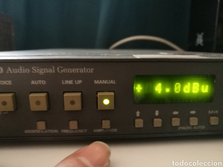 Radios antiguas: Sony Tektronix ASG 140 Generador de señales de audio 20 kHz - Foto 7 - 193726787