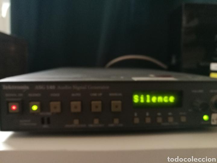 Radios antiguas: Sony Tektronix ASG 140 Generador de señales de audio 20 kHz - Foto 14 - 193726787