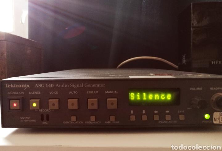 SONY TEKTRONIX ASG 140 GENERADOR DE SEÑALES DE AUDIO 20 KHZ (Radios - Aparatos de Reparación y Comprobación de Radios)