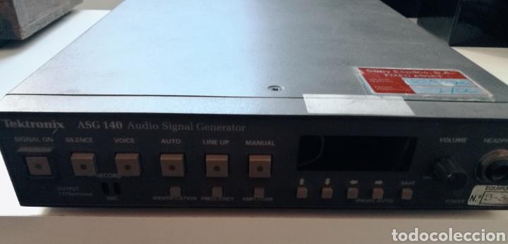Radios antiguas: Sony Tektronix ASG 140 Generador de señales de audio 20 kHz - Foto 15 - 193726787