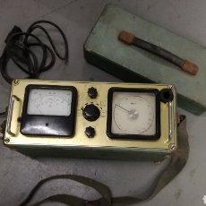 Radios antiguas: ANTIGUO APARATO MEDICION ALTAVOCES. Lote 193734436
