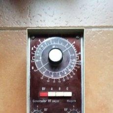 Radios antiguas: GENERADOR REPRO RFT/21. AFHA. PARA AJUSTE RADIOS VALVULAS Y TRANSISTORES.. Lote 193825566