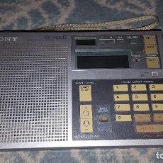 Radios antiguas: SONY ICF-7600 D REPARAR O PIEZAS. Lote 194037415