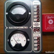 Radios antiguas: ELECTROPOLÍMETRO MAYMÓ.POLIMETRO.. Lote 194269582