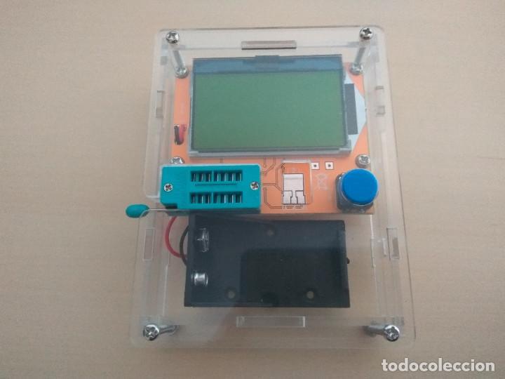 TESTER DE COMPONENTES ELECTRONICOS. (Radios - Aparatos de Reparación y Comprobación de Radios)