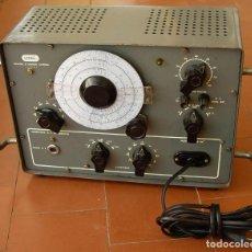 Radios Anciennes: GENERADOR OSCILADOR DE RADIO FRECUENCIA LME GR-60...SANNA. Lote 195088787