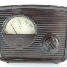Rádios antigos: ELEVADOR REDUCTOR T.R.Q. MODELO M-2 - BAQUELITA. Lote 195797602